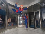 Me, Indoor Sky-Diving
