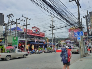 Crazy Power Lines that feed Bangla Road