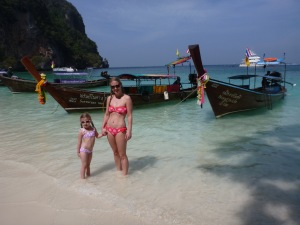 Longtail Boats at Monkey Beach