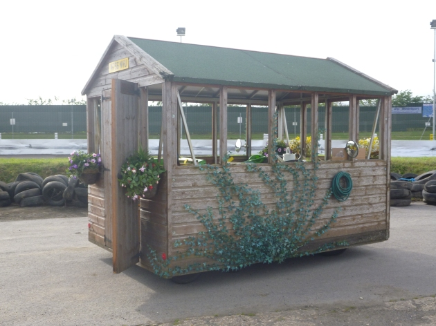 World's fastest Garden Shed