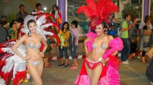 Some of the Lady Boys from Simon Cabaret, Phuket