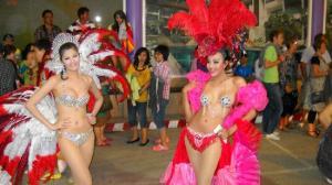 Some of the Lady Boys from Simon Cabaret, Phuket
