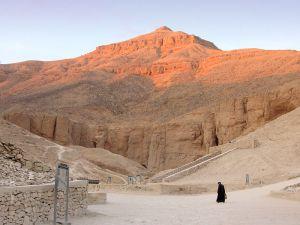 al-Qurn dominates the valley.