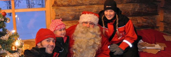 Meet Santa in Lapland FEATURED