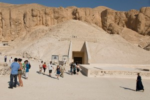 Tutankhamun Tomb Entrance