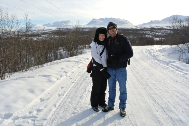 Us at Abisko National Park
