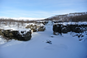 Frozen River, Abisko National Park