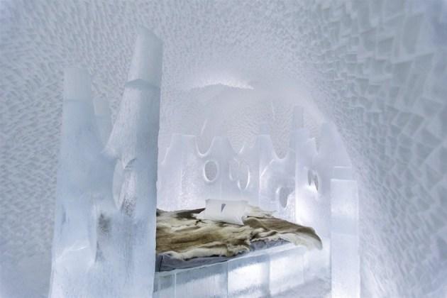 Ice Hotel 23, 2013: Art Suite Nest. Artist: Maurizio Perron.