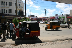 Tuk tuk to take the shopping to the orphanage