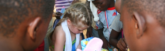 Take my Daughter to an African Orphanage